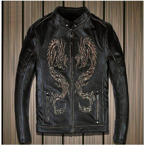 メンズファッション レザージャケット 牛革ジャケット パンク ロック風 ライダーメンズ 牛革バイクジャケット ライダースジャケット バイクウェア お洒落 ファッション 送料無料