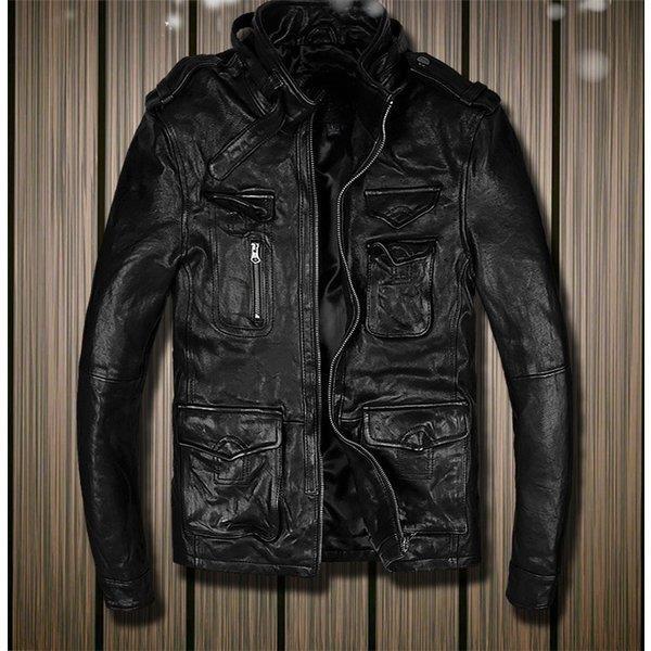 メンズファッション レザージャケット 羊革ジャケット ラム革 ライダーメンズ 羊革バイクジャケット ライダースジャケット バイクウェア お洒落 ファッション 送料無料
