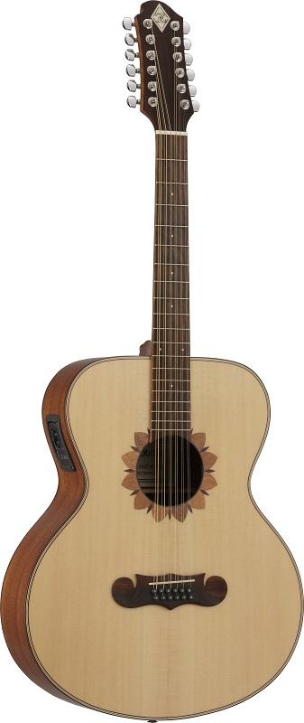 ZEMAITIS Acoustic(ゼマイティス・エレクトリック・アコースティック) CAJ-100FW-12-E☆12弦ギター エレアコ(CAJ100FW12E) ☆ ゼマティス・ギター アコギ【smtb-KD】【smtb-KD】:-p2