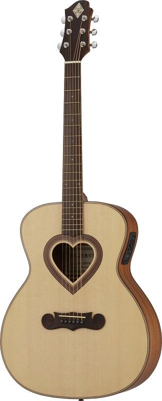 ZEMAITIS Acoustic(ゼマイティス・アコースティック) CAG-100HW-E-LH Left hand☆ギター エレアコ レフトハンド モデル(CAG100HWELH) ☆ ゼマティス・ギター アコギ【smtb-KD】【smtb-KD】:-p2
