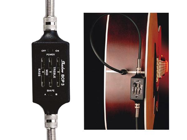 SHADOW(シャドー) SH BCP 3 Cable Preamps シャドウ エレクトリックベース用 ケーブル・プリアンプ 【送料無料】【smtb-kd】:-p5