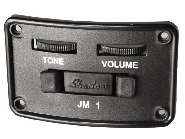 SHADOW(シャドー) SH JM-1-G (ラディウス・シェイプ) Special Size Onboard Preamp シャドウ スペシャルサイズ・ オンボード・プリアンプwith/ナノフレックス・ピックアップ (ギター用アクティブ回路) 【送料無料】【smtb-kd】:-p5
