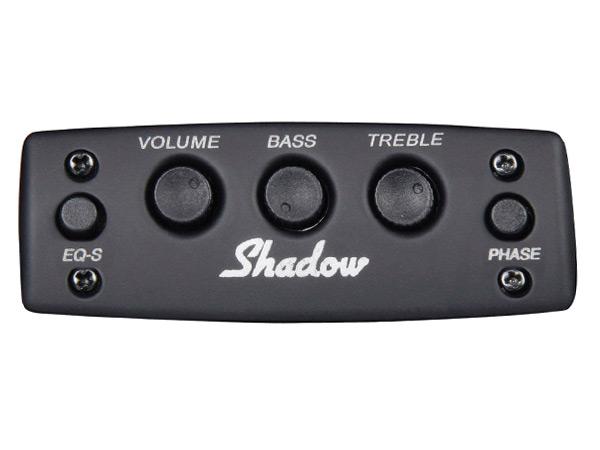 SHADOW(シャドー) SH 861 Special Size Onboard Preamp シャドウ スペシャルサイズ・オンボード・プリアンプ with/ナノフレックス・ピックアップ (ギター用アクティブ回路) 【送料無料】【smtb-kd】:-p5