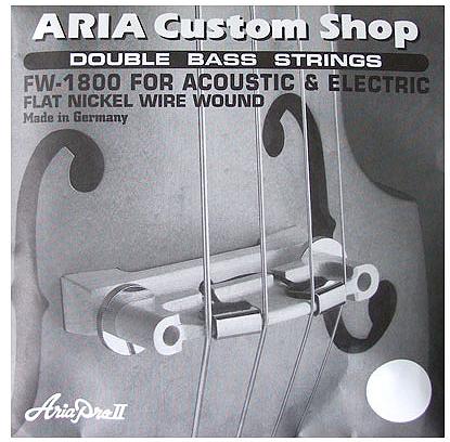 ARIA SWB専用弦 4弦セット 「FW-1800」 アリア・アップライトベース専用弦セット 【送料無料】【smtb-KD】:aria-fw1800-p5