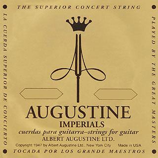 AUGUSTINE(オーガスチン) 「IMPERIAL/GOLD SET(インペリアル/ゴールド:1,2,3弦:IMPERIAL☆4,5,6弦:GOLD)×12セット」 定番クラシックギター弦ブランド 【送料無料】【smtb-KD】:-p2