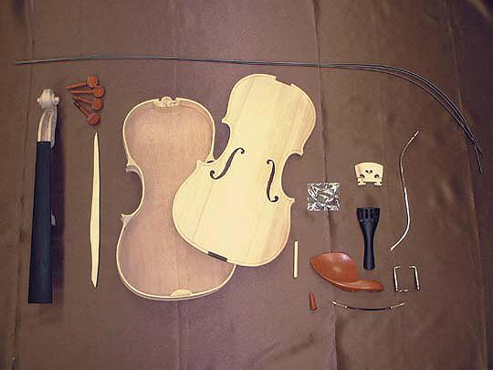 HOSCO(ホスコ/細川) V-KIT-1 バイオリン組み立てキット【工作楽器】【送料無料】【smtb-KD】 【楽ギフ_包装選択】:-p2