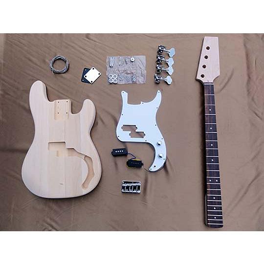 HOSCO(ホスコ/細川) ER-KIT-PB エレキベースギターキット プレジジョンベース・タイプ【工作楽器】【送料無料】【smtb-KD】 【楽ギフ_包装選択】:-p2