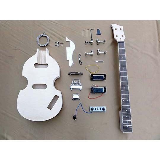 HOSCO(ホスコ/細川) ER-KIT-VB エレキベースギターキット バイオリン ベース タイプ【工作楽器】【送料無料】【smtb-KD】 【楽ギフ_包装選択】:-p2