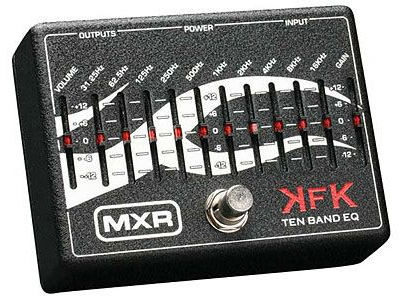 MXR KFK1 Ten Band Equalizer(ACアダプター付属)/10BAND・イコライザー/KFK-1【送料無料】【smtb-KD】:-as, モジク 9a85cec6