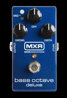 MXR M288 Bass Octave Deluxe/ベース・オクターブ・デラックス/M-288【ACアダプターサービス中!!】 【送料無料】【smtb-KD】:-p5