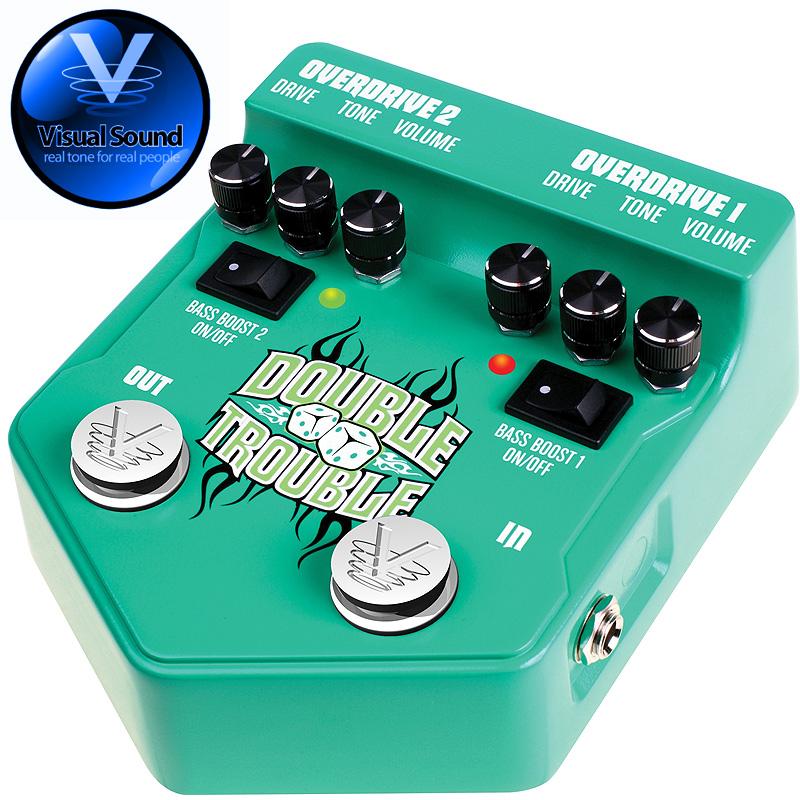 (正規輸入品で安心!)VISUAL SOUND V2DT DOUBLE TROUBLE/オーバードライブ 【送料無料】【smtb-KD】:-as-p2