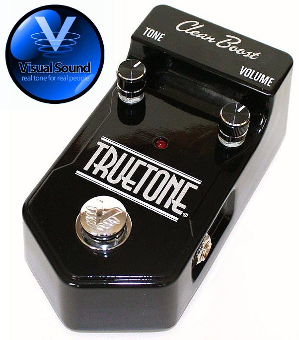 (正規輸入品で安心!)VISUAL SOUND TRUETONE/クリーンブースト・プリアンプ 【送料無料】【smtb-KD】:-as-p2
