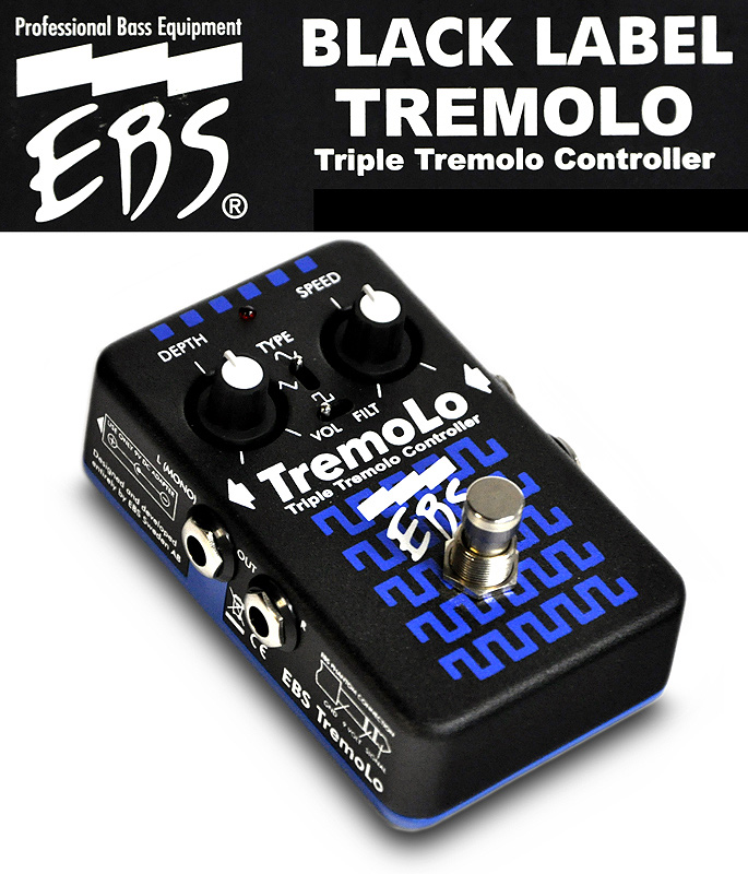 EBS「TremoLo」トリプル・トレモロ・コントローラー【送料無料】【smtb-KD】