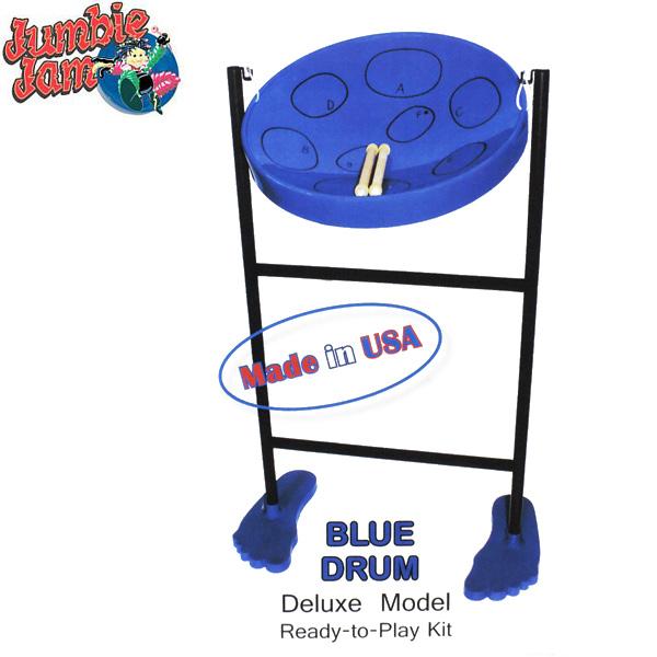 panyard(パンヤード)Jumbie Jam D1058BLUE(ブルー) ジャンビージャム 立奏用スタンド付デラックスキット【送料無料】【smtb-KD】:-p5