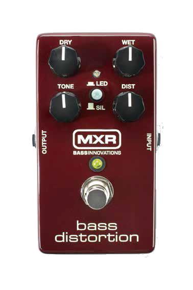 【あす楽対応】MXR Bass Distortion M85 ベースディストーション M-85【送料無料】【smtb-KD】:-p2