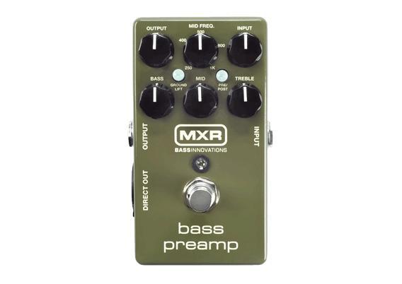 2019春の新作 【あす楽対応】MXR Bass M81 Bass M81 Preamp ベースプリアンプ M-81 Preamp【送料無料】【smtb-KD】:-p2, 熱塩加納村:e7a4cbdd --- clftranspo.dominiotemporario.com