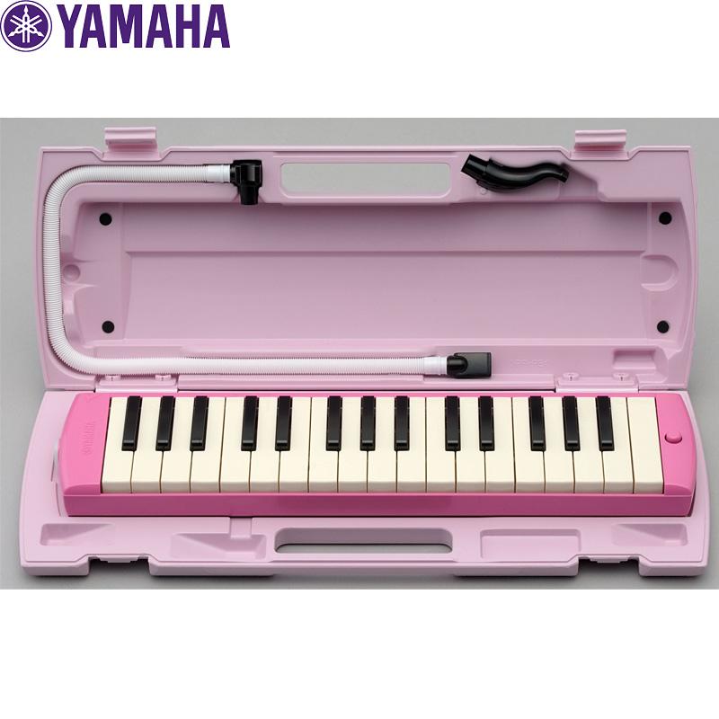 ご希望の方にドレミシール1枚サービス 在庫あり 全国どこでも何でも送料無料 ご入園 ご入学祝いのプレゼントに最適 GGの教育用楽器特選 YAMAHA ヤマハ NEWモデル ピアニカ PIANICA P-32EP :-as-p2 P32EP ピンク 鍵盤ハーモニカ smtb-KD セールSALE%OFF 送料無料