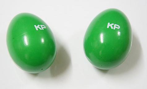 全国どこでも何でも送料無料 Kids 特売 Percussion 子どものための本格楽器シリーズ KP キッズパーカッション EM GR エッグシェーカー グリーン ランキングTOP10 送料無料 KP-90