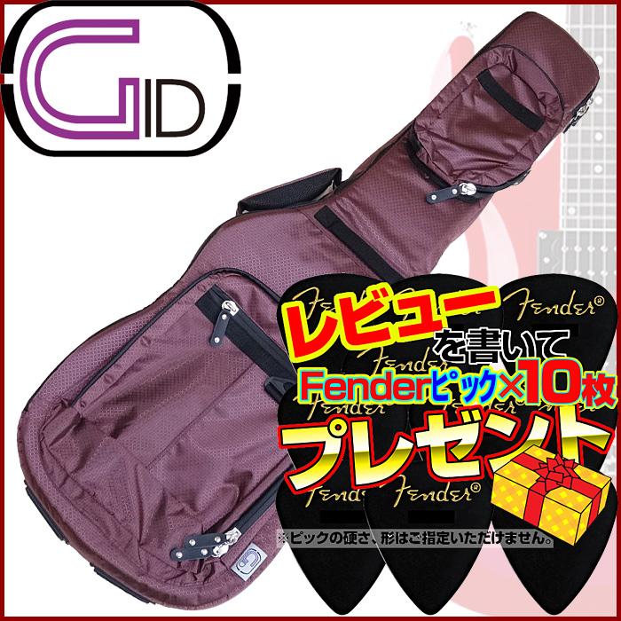 【あす楽対応】GID(ジッド)CASE SERIES/エレキギター用ライトギグバッグ(CPK:シャンパンピンク)/GLGT-EG【送料無料】【smtb-KD】GLGTEG:-as-p5