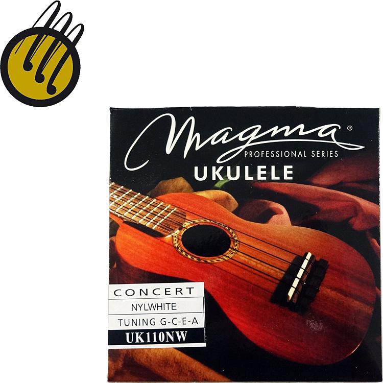 日本国内どこでも送料無料 ウクレレ弦 MAGMA UK110NW Nylwhite コンサートウクレレ用弦 ナイルホワイト 202107marason 賜物 spsale 最安値挑戦 送料無料 smtb-KD