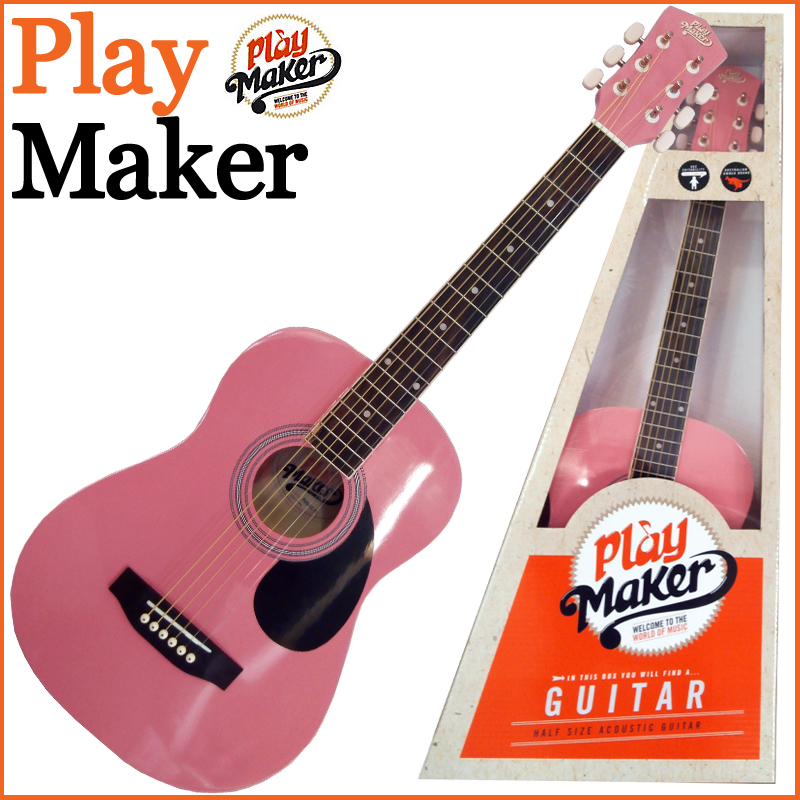 PlayMaker PMSA12PK 1/2 ACOUSTIC GUITAR:プレイメーカー:【送料無料】【smtb-KD】