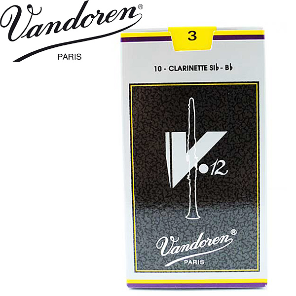全国どこでも何でも送料無料 正規輸入品 VANDOREN バンドレン リード:Bbクラリネット用 V12 smtb-KD 10枚セット :バンドーレン 営業 :-p2 3 チープ 送料無料