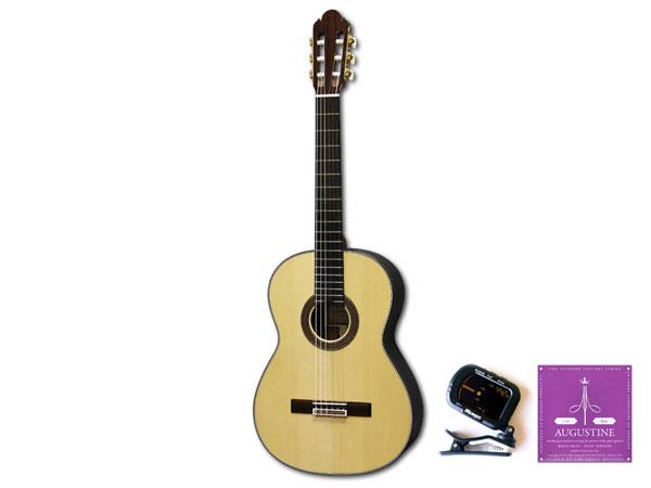 KODAIRA(小平ギター) 「AST-100L/3点セット」 ショートスケールクラシックギター スプルース単板 【送料無料】【smtb-KD】:-p2