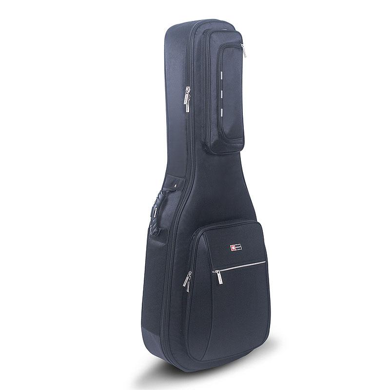 クロスロック クラシックギターケース ブラック CROSSROCK CRDG300C BK Classic 4/4 Black 【smtb-KD】
