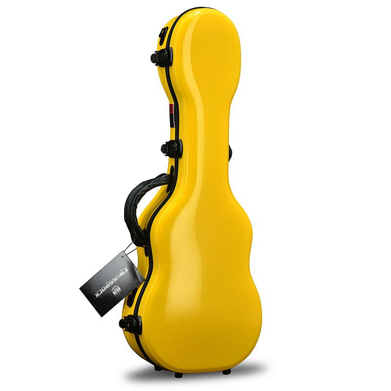 CROSSROCK CRF1000CU YL Concert Ukulele Yellow☆クロスロック コンサートウクレレケース イエロー【送料無料】【smtb-KD】