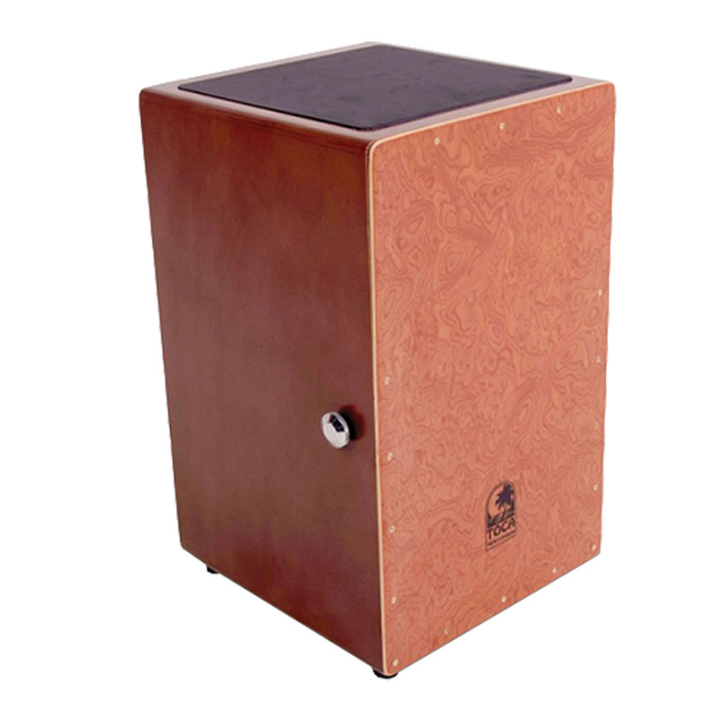 TOCA(トカ) Toca Products Cajons Wood Cajon TCAJ-BW Dark Walnut Burl☆ウッド カホン Percussion パーカッション TCAJBW【smtb-KD】:-p2