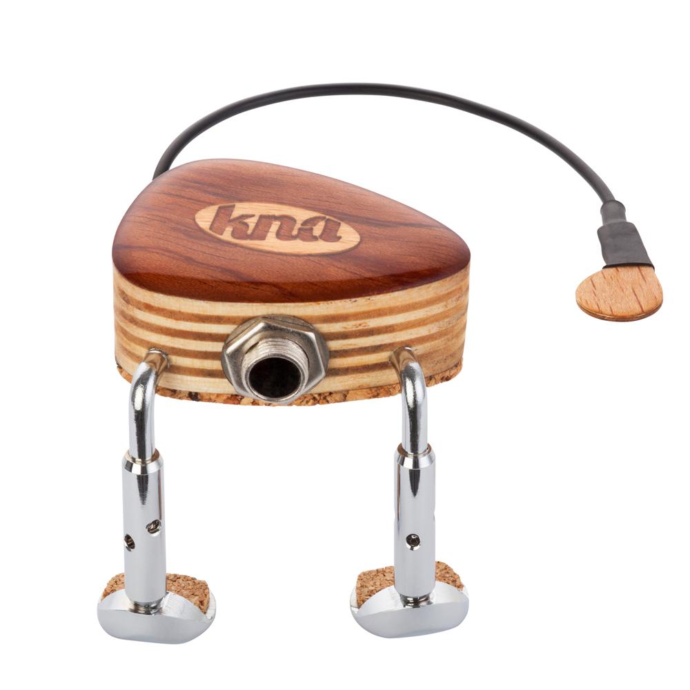 【あす楽対応】KNA(クレモナ) VV-1 バイオリン/ビオラ用ポータブル・ピックアップ パッシブタイプ/VV1 Portable Violin/Viola Pick-up【送料無料】【smtb-KD】