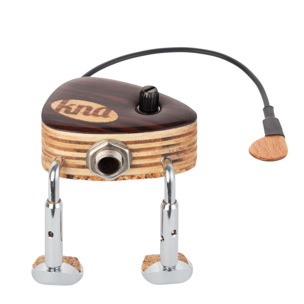 Violin/Viola 【あす楽対応】KNA(クレモナ) VV-2(音量調節機能付き) Pick-up【送料無料】【smtb-KD】 パッシブタイプ/VV2 Portable バイオリン/ビオラ用ポータブル・ピックアップ
