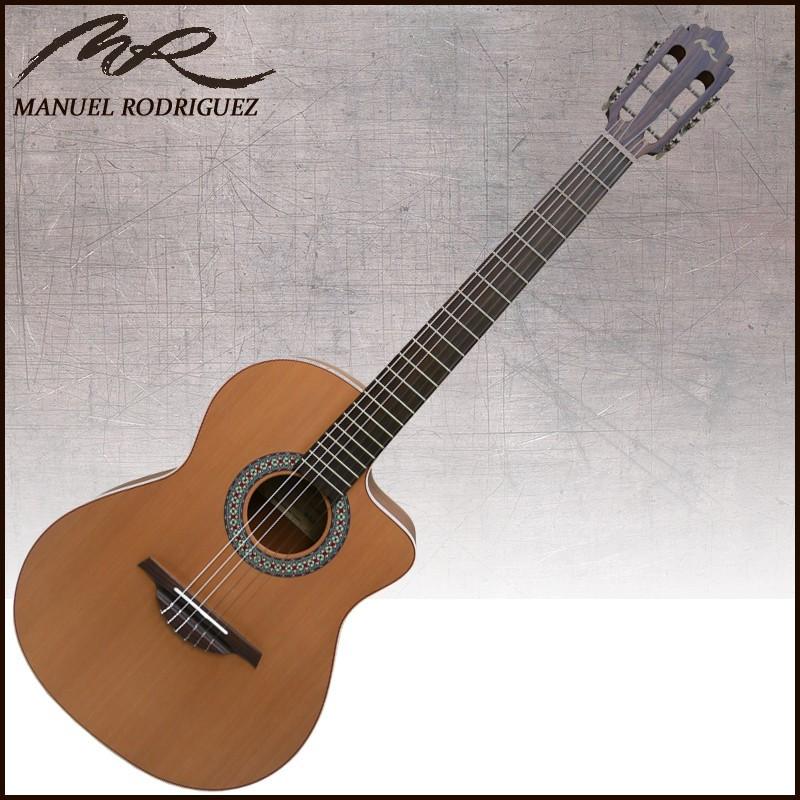 Manuel Rodriguez Classical Cutaway C11 Walnut(ウォルナット) マニュエル・ロドリゲス クラシックギター PU搭載 エレガット【送料無料】【smtb-KD】:-p5