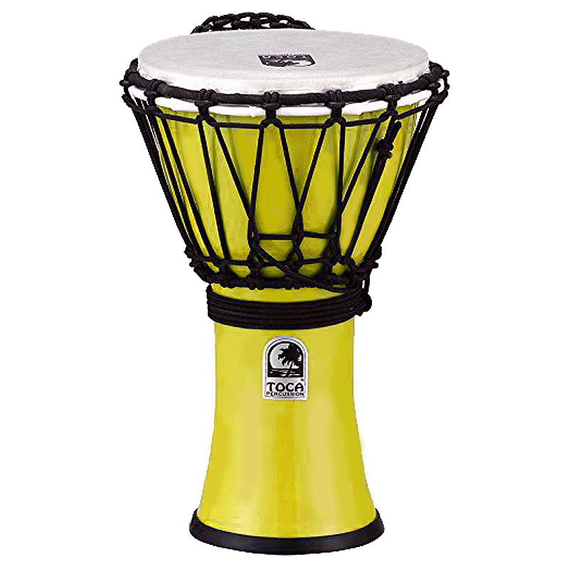TOCA(トカ) Toca Products Djembes FreestyleII Colorsound Djembe TFCDJ-7PY Freestyle II Djembe 7inch - Pastel Yellow☆ジャンベ 7インチ パステルイエロー Percussion パーカッション TFCDJ7PY【smtb-KD】:-p2