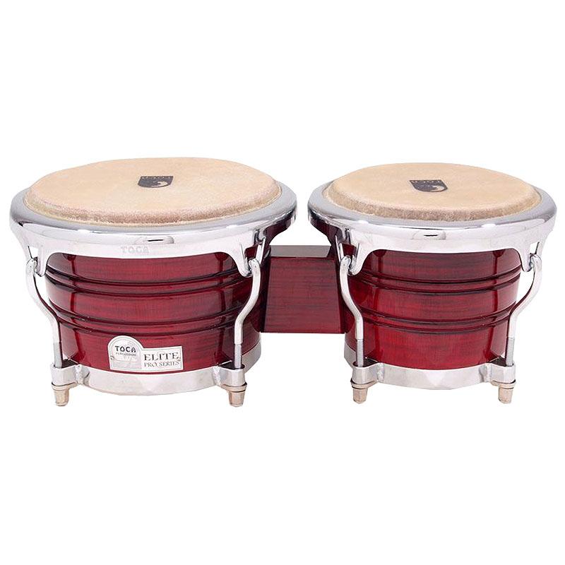 TOCA(トカ) Toca Products Bongos ELITE PRO SERIES 3170CF Elite Pro Wood Bongos-Crimson Fade☆ウッド ボンゴ Percussion パーカッション 3170-CF【smtb-KD】:-p2