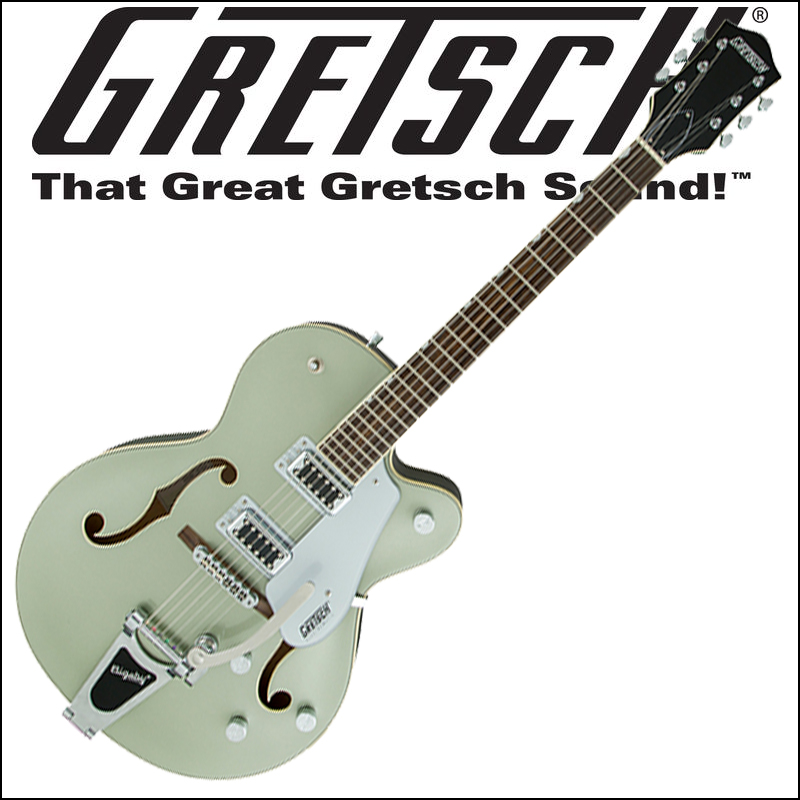 GRETSCH G5420T Electromatic Hollow Body Single-Cut with Bigsby Aspen Green (エレキギター)【smtb-KD】:-p5