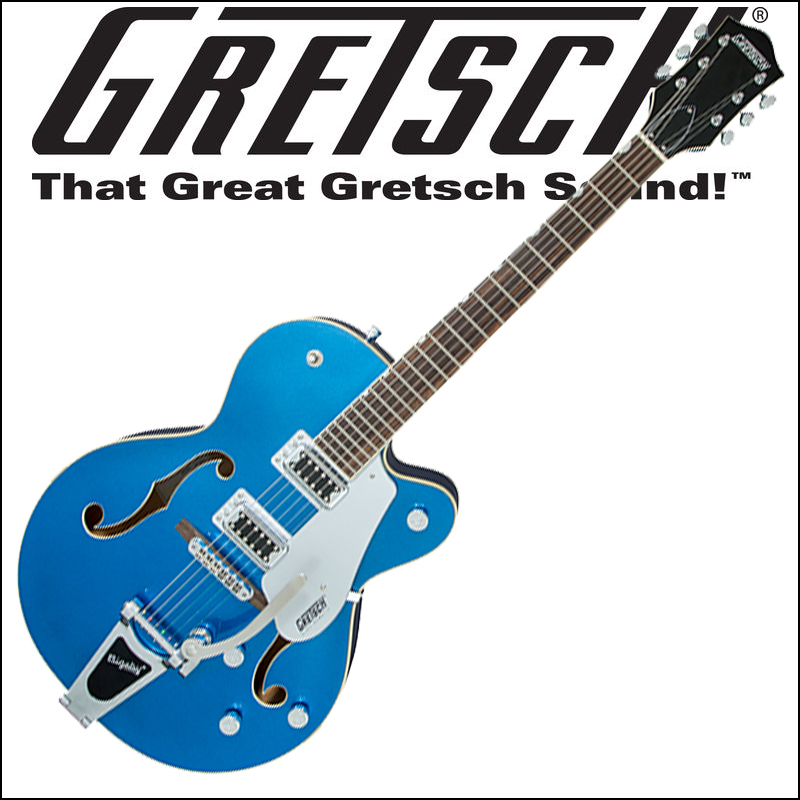 GRETSCH G5420T Electromatic Hollow Body Single-Cut with Bigsby Fairlane Blue (エレキギター)【smtb-KD】:-p5