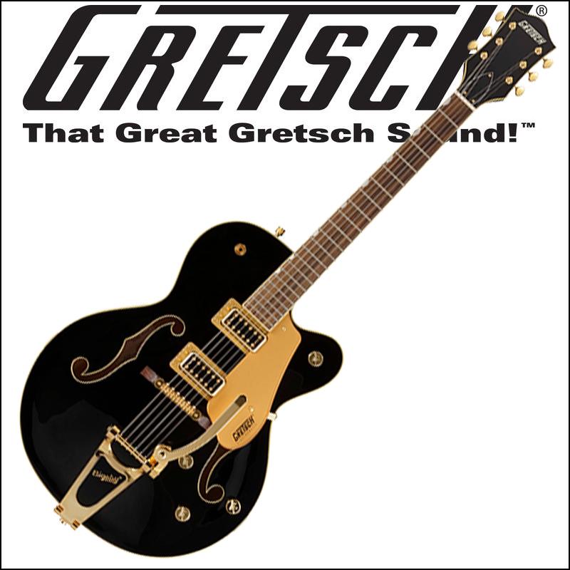 【あす楽対応】Gretsch G5420TG-FSR Electromatic Hollow Body Single-Cut with Bigsby Black (エレキギター)【smtb-KD】:-p5, アントデザインストア 36738d05