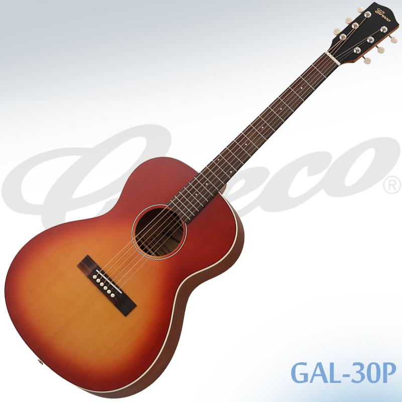 【安心の正規仕入品】GRECO GAL-30P Cherry Sunburst  (チェリー・サンバースト) エレアコ スモールサイズ グレコ ケース付き【smtb-KD】:-p5