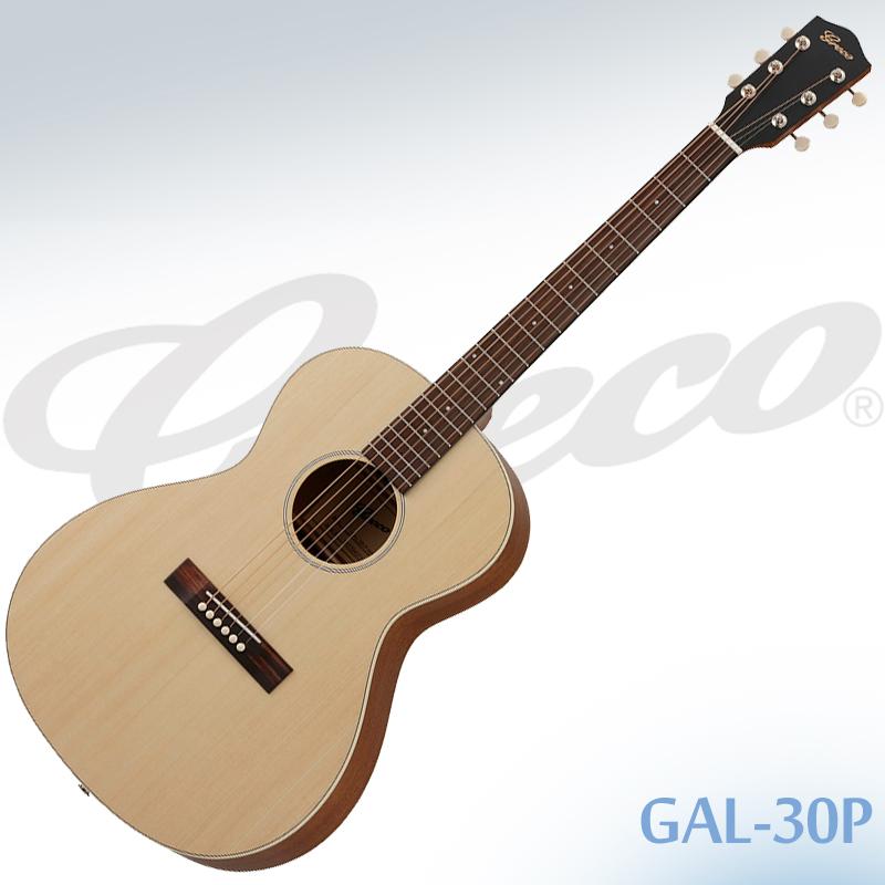 【安心の正規仕入品】GRECO GAL-30P Natural(ナチュラル) エレアコ スモールサイズ グレコ ケース付き【smtb-KD】:-p5