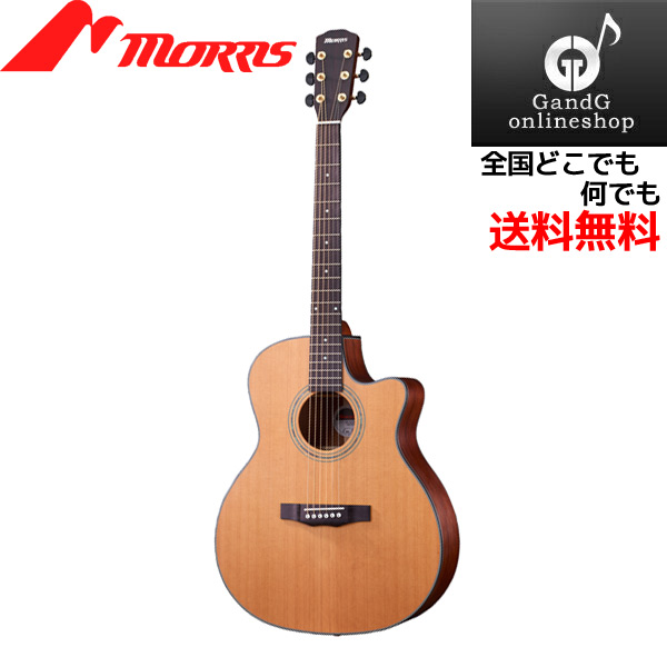 MORRIS SR-701 NATURAL:ナチュラル アコースティックギター モーリス【送料無料】【smtb-KD】:-p5