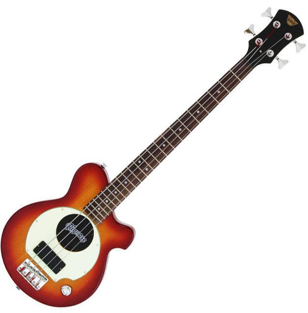アンプ内蔵コンパクトなエレキベースギター/Pignos(ピグノーズ)PGB-200 CS=Cherry Sunburst【送料無料】【smtb-KD】:-as-p2