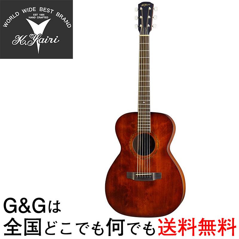 K.YAIRI Compact Series YFP-02 DM ヤイリ コンパクトアコースティックギター ミニアコギ【送料無料】【smtb-KD】