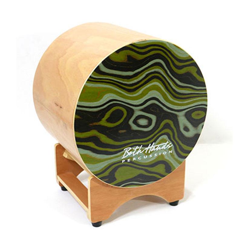和太鼓のような丸形カホーン 送料無料 和太鼓型カホン ボスハンズ セール価格 打楽器 ラテンパーカッション アコースティックドラム BOTH QIN HANDS BH CAJON BHC-Q 流行のアイテム