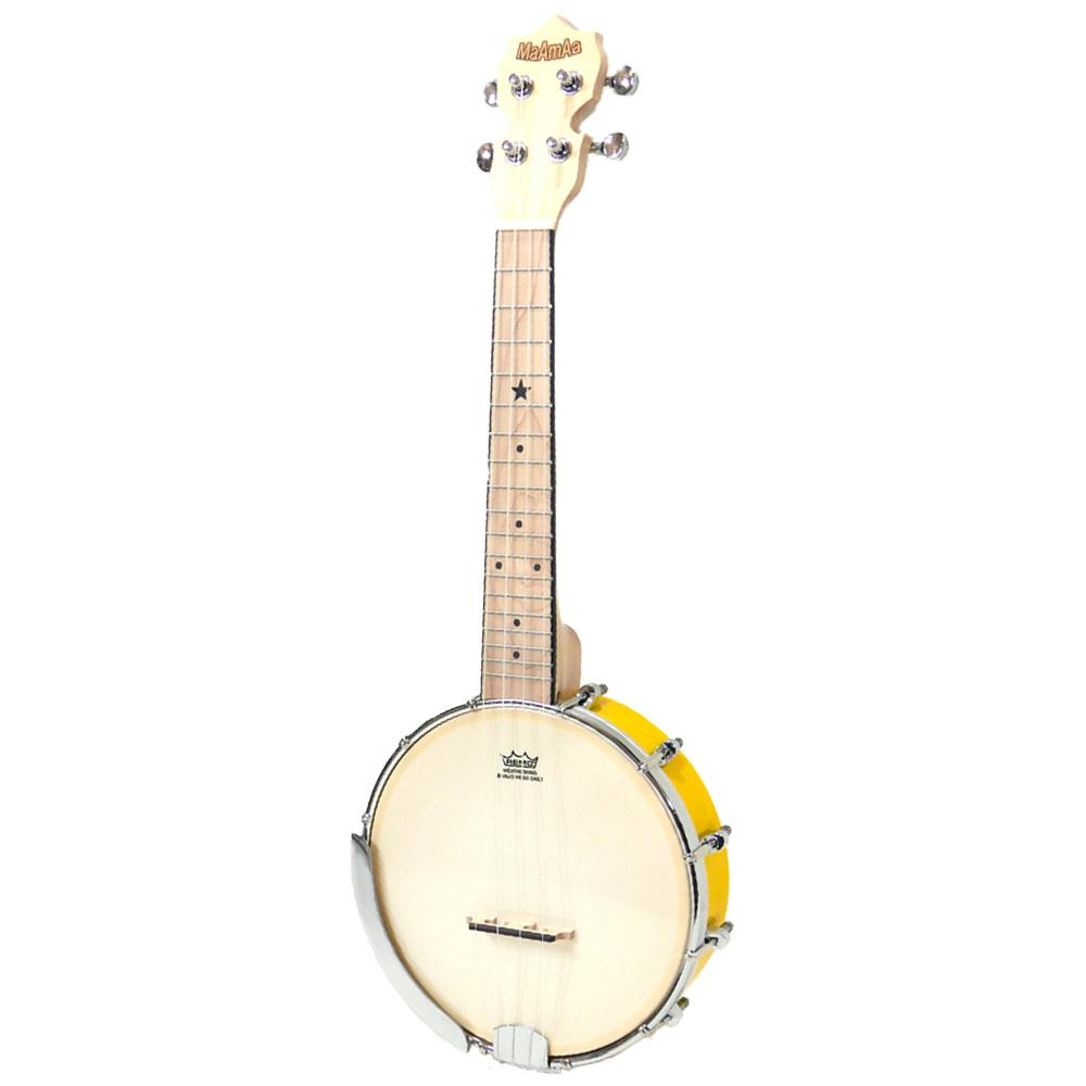 国内どこでも送料無料 試奏動画で音色が聴ける かわいいポップカラー バンジョーウクレレ マァーマァ イエロー MaAmAa MBU-PO YL コンサートサイズ spsale Pop Banjo 直営ストア Ukulele Color YELLOW 高品質新品 Series