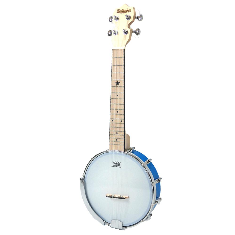 国内どこでも送料無料 試奏動画で音色が聴ける 送料無料/新品 かわいいポップカラー バンジョーウクレレ マァーマァ ブルー MaAmAa MBU-PO 授与 BL Ukulele コンサートサイズ Color Pop BLUE Banjo Series spsale