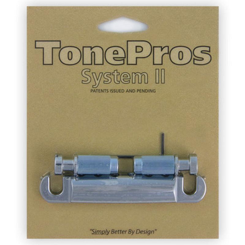 トーンプロズ エレキギター用 テールピース T1Z-C クローム TonePros Metric Tailpiece