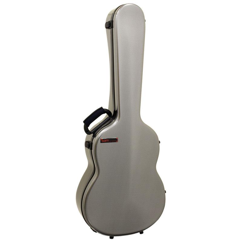 bam 8002XLSC Silver Carbon look HIGHTECH Classical Guitar Case【smtb-KD】:-p2