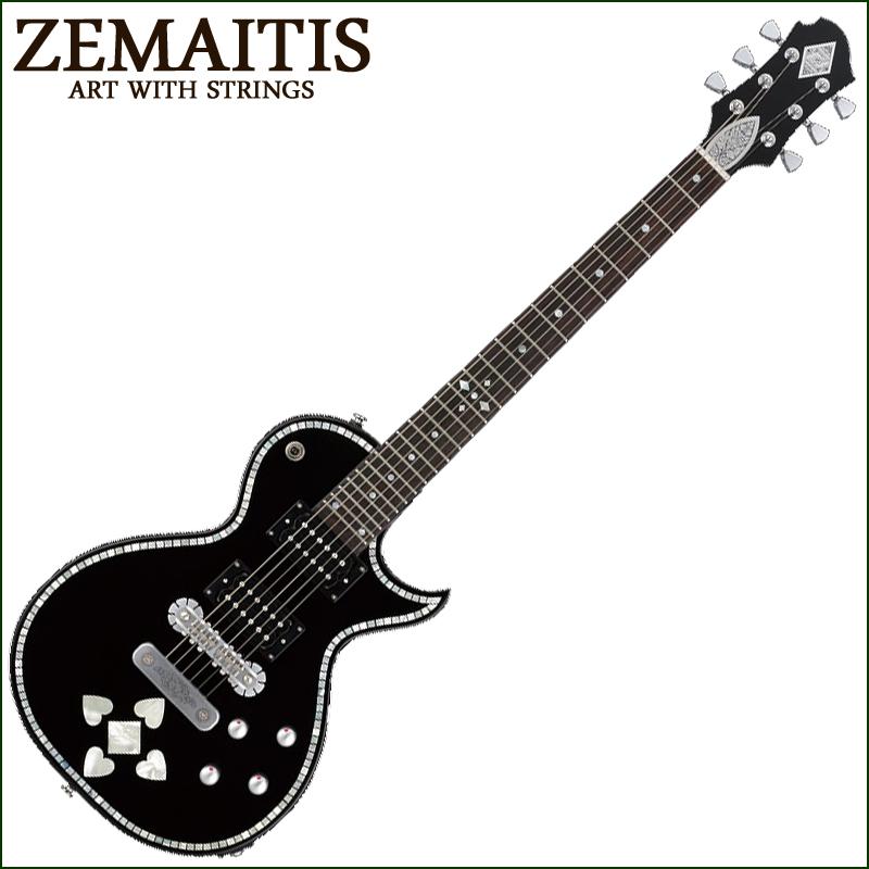 Zemaitis C24SU BLACK PEARL HEART【smtb-KD】:-p2