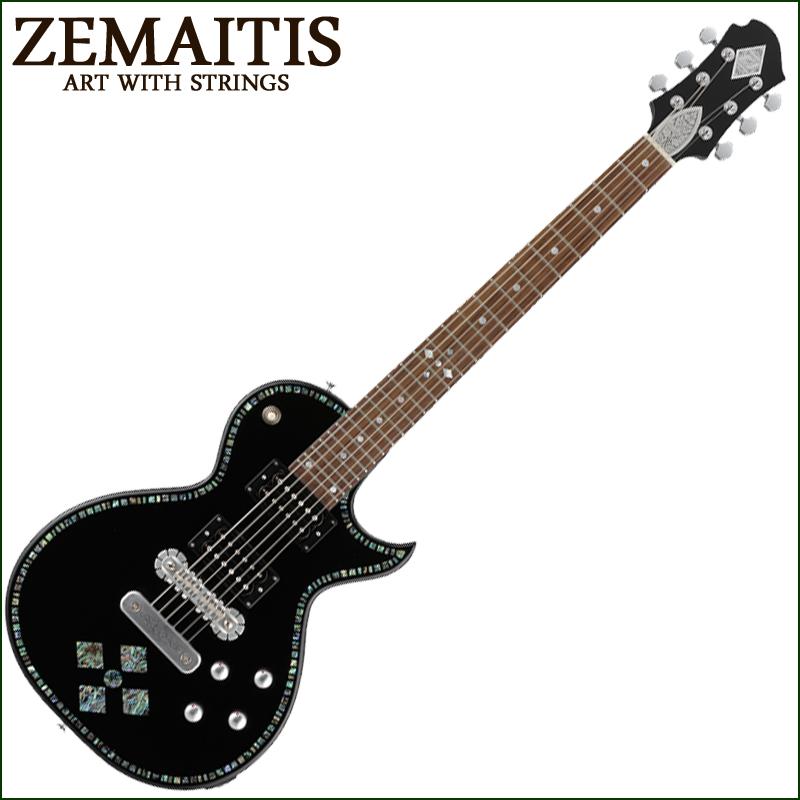 Zemaitis A24SU BLACK PEARL ABALONE DIAMOND【smtb-KD】:-p2